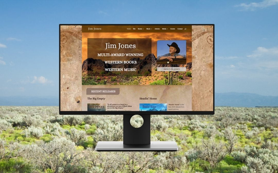 Website Project: Jim Jones Western
