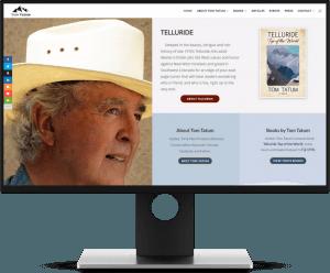 Author Tom Tatum Website Preview