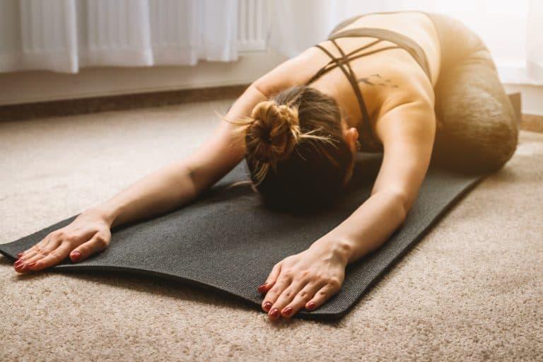 Woman Doing Yoga - Jeshoots